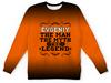"Детский свитшот унисекс ""Евгений the Legend"" - man, евгений, legend, женя, evgeniy"