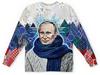 "Детский свитшот унисекс ""Putin Design"" - флаг, путин, президент, символ, в образе"