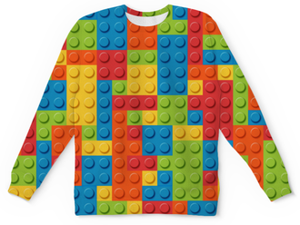 "Детский свитшот унисекс ""LEGO "" - lego, лего"