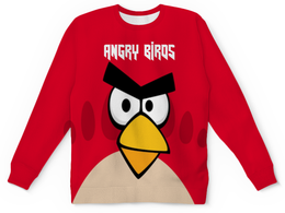 "Детский свитшот унисекс ""Angry Birds (Terence)"" - птички, для детей, игры, terence, angry birds"