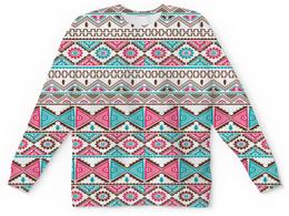 """Детский свитшот унисекс """"Графика"""" - треугольники, абстракция, графика, узор, ромбы"""