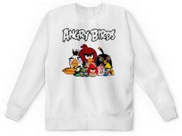 "Детский свитшот унисекс ""Angry Birds"" - птицы, птички, мульт, angry birds, энгри бёрдз"