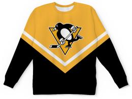 "Детский свитшот унисекс ""Pittsburgh Penguins"" - pittsburgh penguins, питтсбург пингвинз, хоккей, спорт"