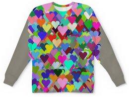 """Детский свитшот унисекс """"Для самых любимых малышей"""" - сердце, любовь, орнамент, символ"""