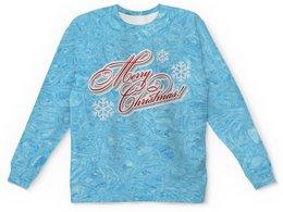 """Детский свитшот унисекс """"Christmas"""" - праздник, новый год, рождество, снежинки, christmas"""