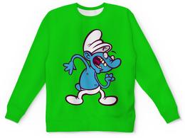"""Детский свитшот унисекс """"Смурфики ( The Smurfs )"""" - смурфики, the smurfs"""