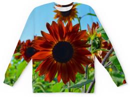 """Детский свитшот унисекс """"Подсолнухи"""" - лето, цветы, подсолнух"""
