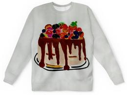 """Детский свитшот унисекс """"Тортик"""" - праздник, тортик"""
