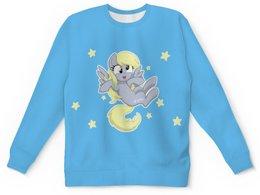 """Детский свитшот унисекс """"My little pony (Derpy)"""" - мультфильм, мой маленький пони, my little pony, derpy, mlp"""