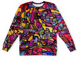 """Детский свитшот унисекс """"rrg`90`90=-="""" - арт, узор, абстракция, фигуры, текстура"""