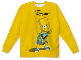 "Детский свитшот унисекс ""Барт Симпсон хулиган"" - симпсоны, мульт"