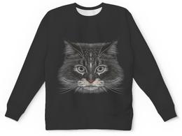 "Детский свитшот унисекс ""Котик"" - кот, животное"