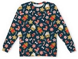 """Детский свитшот унисекс """"ПОДАРОК"""" - стиль, звезды, красота, сладости, игрушки"""
