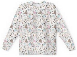 """Детский свитшот унисекс """"Единороги"""" - животные, лошадь, радуга, мульт, единорог"""