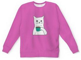 "Детский свитшот унисекс ""Котенок"" - кот, кошка, животные, котенок, котик"