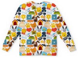 """Детский свитшот унисекс """"ДЕТСТВО"""" - игрушки, абстракция, стиль эксклюзив креатив красота яркость, арт фэнтези"""