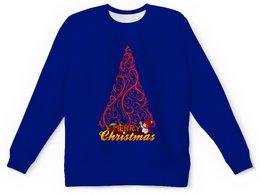 """Детский свитшот унисекс """"Новый год"""" - праздник, новый год, рождество, christmas, снеговик"""