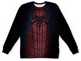 "Детский свитшот унисекс ""паук."" - человек, человек паук, паук"