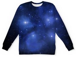 """Детский свитшот унисекс """"The Spaceway"""" - одежда космос, космос, звезды, вселенная"""