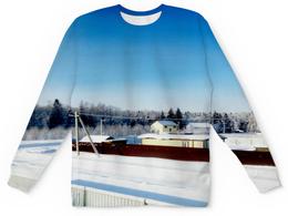 """Детский свитшот унисекс """"Зима. Мороз. Солнце."""" - зима, солнце, снег, мороз"""