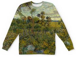 "Детский свитшот унисекс ""Закат в Монмажуре (Винсент ван Гог)"" - картина, ван гог"