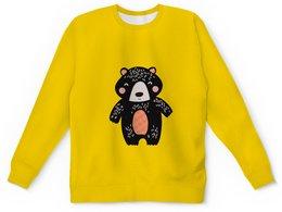 """Детский свитшот унисекс """"мишка"""" - животные, медведь, мишка, мульт, медвежонок"""