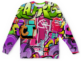 "Детский свитшот унисекс ""Граффити"" - мода, стиль"