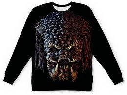 """Детский свитшот унисекс """"The Predator (Movie)"""" - череп, хищник, фильм, фантастика, the predator"""