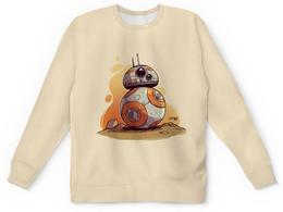 """Детский свитшот унисекс """"Звездные Войны: дроид ББ-8 / BB-8"""" - star wars, звездные войны, bb-8, дроиды, бб-8"""