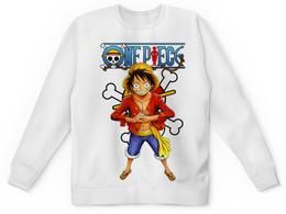"""Детский свитшот унисекс """"One Piece"""" - one piece, ван пис, аниме, манга, луффи соломенная шляпа"""