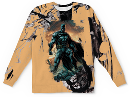 """Детский свитшот унисекс """"Batman"""" - batman, бэтмен, dc, тёмный рыцарь, дс"""