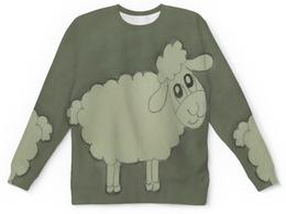 """Детский свитшот унисекс """"Детский Овечка"""" - овечка, прикольная, веселая"""