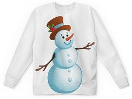 """Детский свитшот унисекс """"пайта"""" - мультик, снеговик, пайта"""
