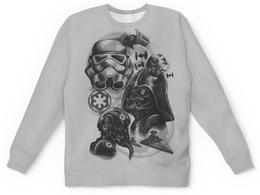 """Детский свитшот унисекс """"Звёздные Войны"""" - star wars, звездные войны, дарт вейдер, штурмовик"""