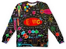"""Детский свитшот унисекс """"Химия"""" - знаки, символы, буквы, химия, формулы"""
