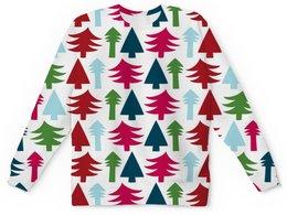 """Детский свитшот унисекс """"Новый год"""" - праздник, новый год, зима, с новым годом, елка"""