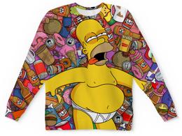 "Детский свитшот унисекс ""Гомер Симпсон"" - simpsons, симпсоны, гомер симпсон, homer simpson"