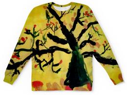 """Детский свитшот унисекс """"Осенняя пора"""" - листья, осень"""