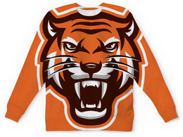 "Детский свитшот унисекс ""Тайгер"" - кот, природа, тигр, животные"