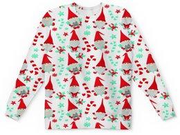 "Детский свитшот унисекс ""Санта"" - новый год, снежинки, дед мороз, санта, гном"