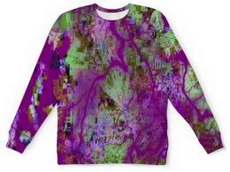 """Детский свитшот унисекс """"Пятна краски"""" - узор, космос, пятна, краски, абстракция"""