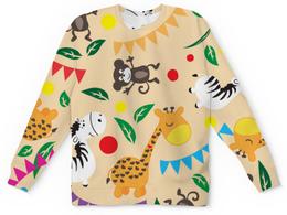 """Детский свитшот унисекс """"Животные"""" - животные"""