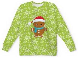 """Детский свитшот унисекс """"Печенье"""" - новый год, еда, сладости, выпечка, печенье"""