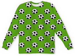 """Детский свитшот унисекс """"мячики """" - футбол, игра, мячики"""