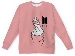 """Детский свитшот унисекс """"Группа BTS"""" - музыка, группа, k-pop, bts, бтс"""
