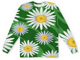 """Детский свитшот унисекс """"Ромашки"""" - цветы, весна, природа, ромашки"""