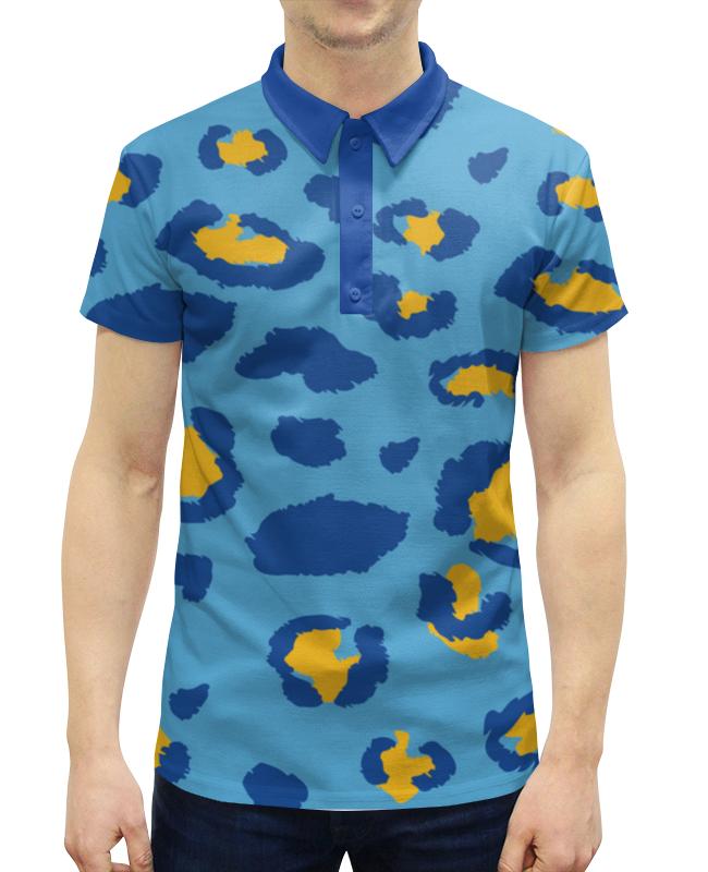 Рубашка Поло с полной запечаткой Printio Леопардовый цены онлайн
