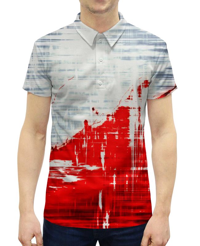 Printio Пятна краски рубашка поло с полной запечаткой printio краски
