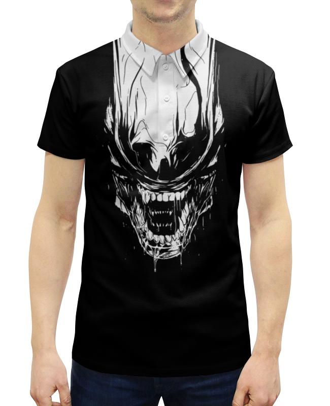 Фото - Рубашка Поло с полной запечаткой Printio Xenoblack рубашка поло с полной запечаткой printio xenoblack