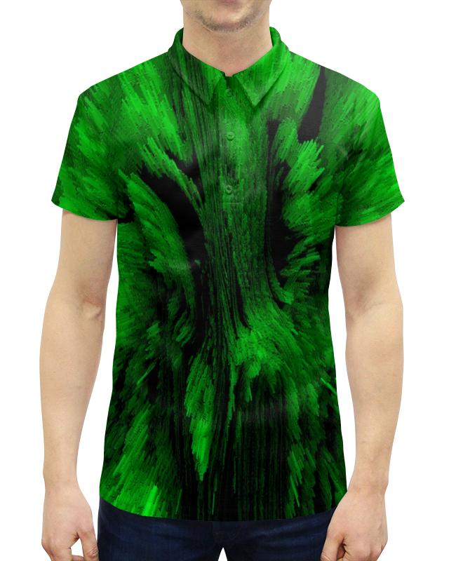 Рубашка Поло с полной запечаткой Printio Взрыв